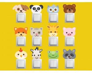 Самозалепващи декоративни стикери - комплект 9 броя Детски