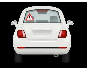 Стикер за автомобил Внимание Жена Шофьор