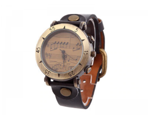 Дамски часовник с музикален декор Luxfacigoo