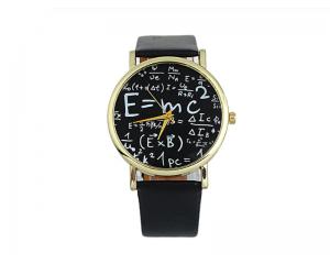Унисекс часовник с математически формули