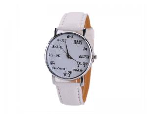 Часовник с математически формули Balight