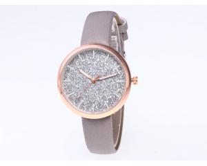 Елегантен дамски часовник с брокат DUOYA