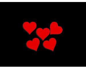 Сет стикери за Свети Валентин