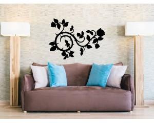 Декоративен стикер флорален елемент