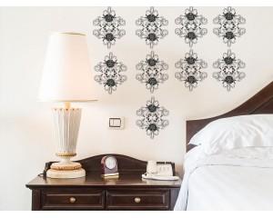 Стикер за стена - винтидж орнамент