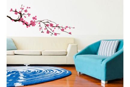 Стикери за стена цветя