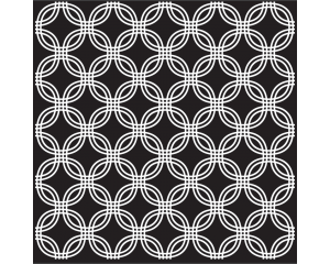 Самозалепващ стикер за плочки с геометрични мотиви #3