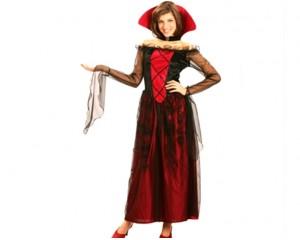 Готически дамски костюм рокля