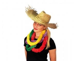 Хавайска сламена шапка - естествен материал
