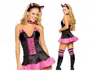 Halloween карнавален костюм котка