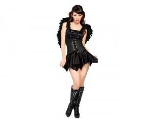 Черен ангел костюм