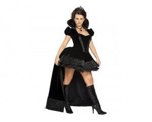 Дамски карнавален костюм черната царица