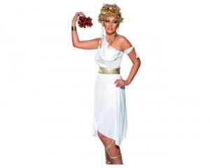 Дамски костюм гръцка богиня - бял