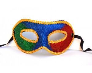 Изящна персийска маска трицветна