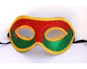 Изящна персийска маска цветна