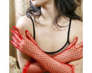 Ръкавици дантелени дълги