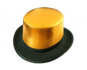 Златисто-черен цилиндър