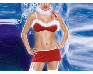 Секси Коледно костюмче
