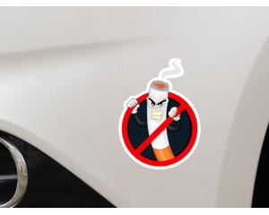 Стикер за автомобил Забранено пушенето
