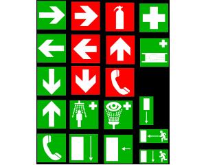 Указателни знаци за обществени сгради и хотели