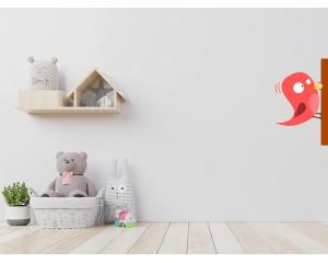 Стикер за детска стая Птица