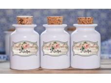 Винтидж етикети за буркани, кутии, бутилки - 50бр