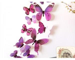 Декоративни пеперуди за стена