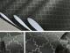 Стилен тапет с фин металик елемент в черно