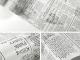 Тапет с весникарски принт на бяла основа