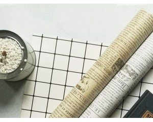 Самозалепваш тапет весникарски принт 0.45х1м