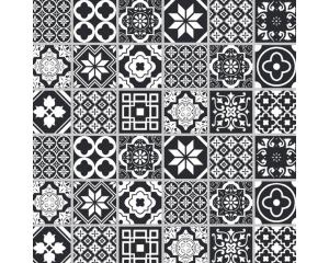 Самозалепващ тапет с дизайн керамични плочки #002