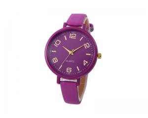 Ежедневен дамски кварцов часовник Bowake в лилаво
