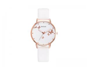 Дамски часовник в бяло BGG